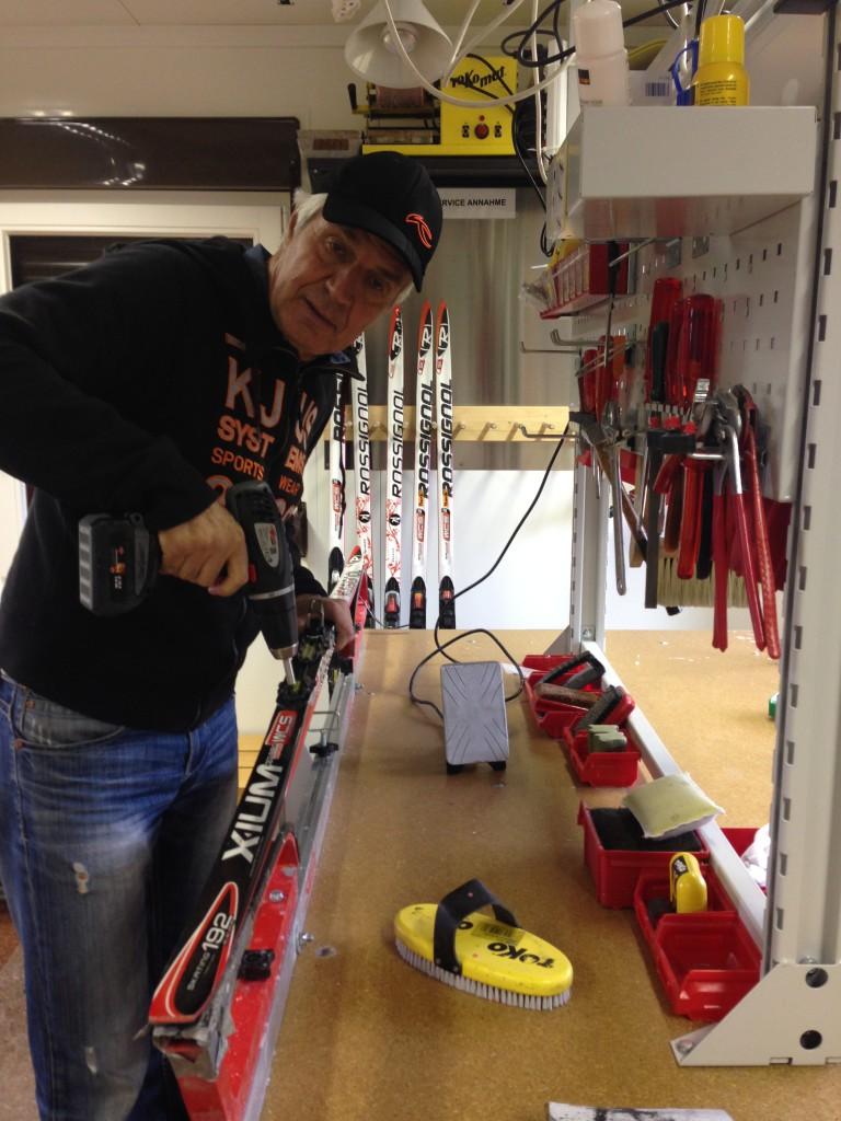 Werkstatt-Skiservice